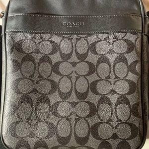 Unisex Coach Leather Bag